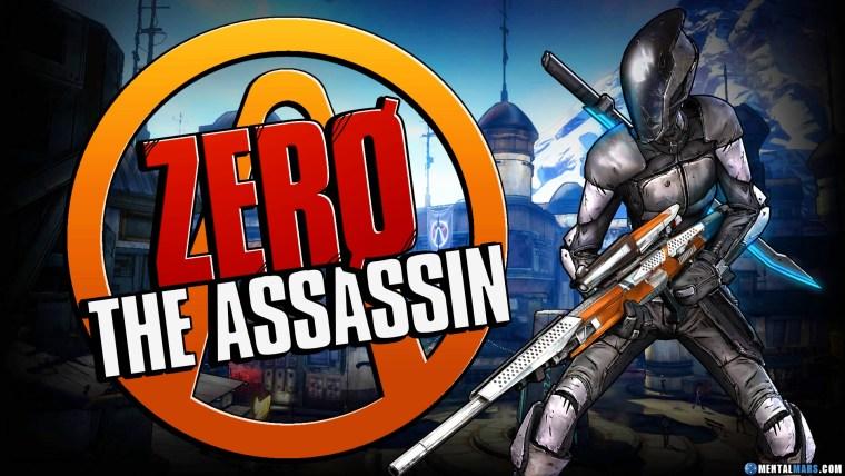 Zero the Assassin - Borderlands 2
