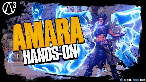 Borderlands 3 Amara Hands-on Preview