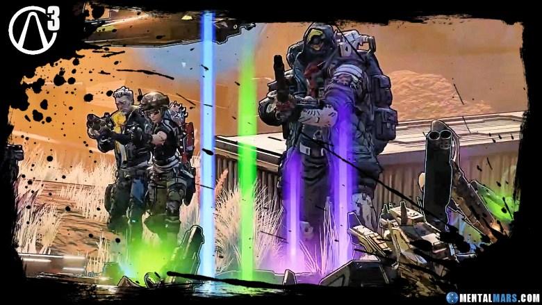 Borderlands 3 weaponry