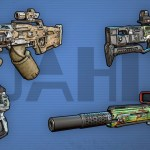 Dahl Weapons - Borderlands 3