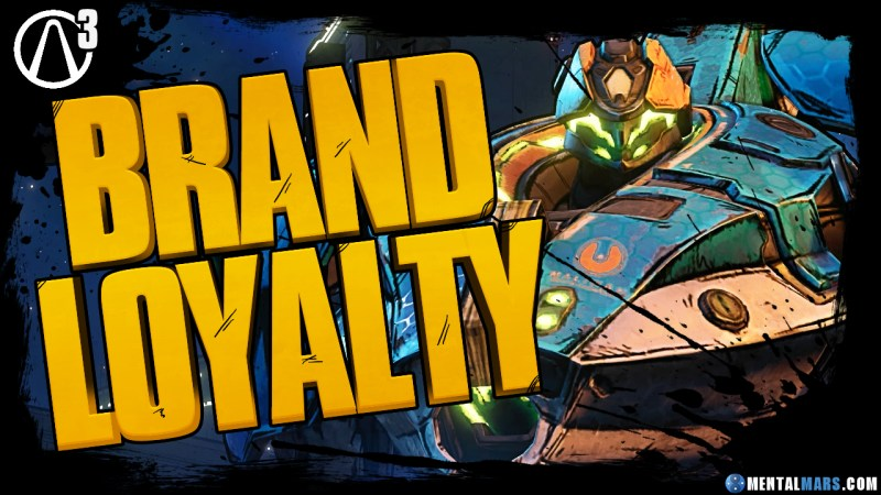 Borderlands 3 Brand Loyalty Rewards