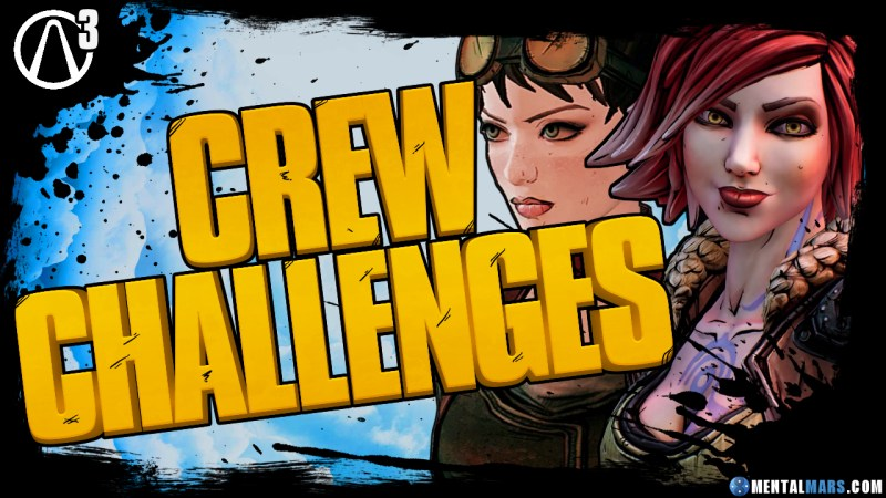 Borderlands 3 Crew Challenges