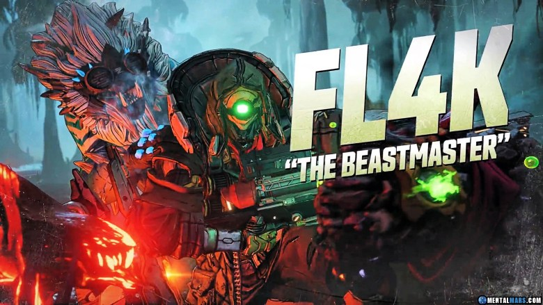 FL4K the Beastmaster - Borderlands 3 Character Profile