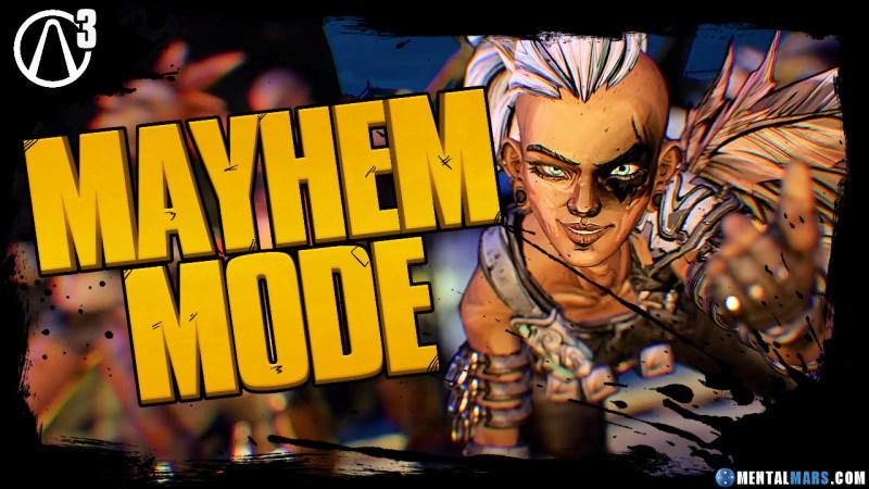 Borderlands 3 Mayhem Mode