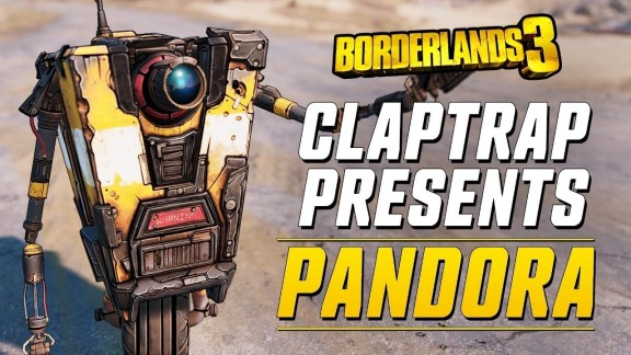 Claptrap Webseries Borderlands 3 Pandora