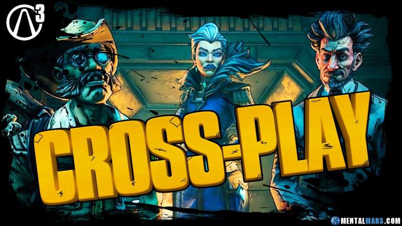Cross-Play Details Borderlands 3