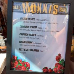 Museum of Mayhem - MoxxisBar Drinks