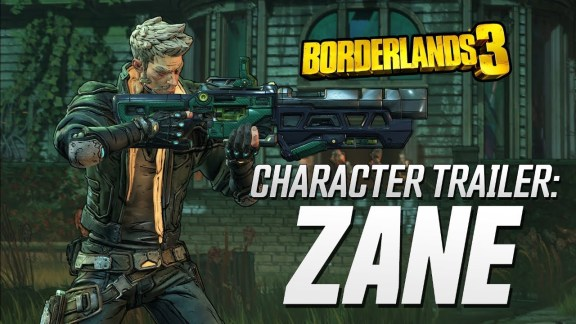 Zane Character Trailer - Borderlands 3