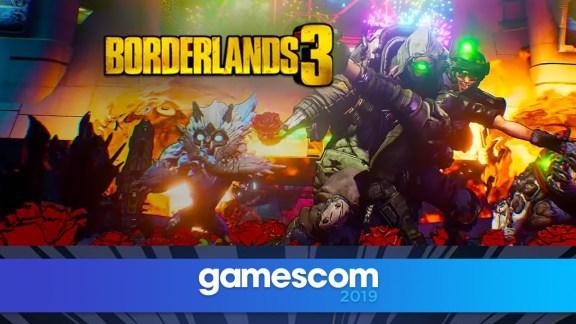 Borderlands 3 Gamescom Opening Night Announcements