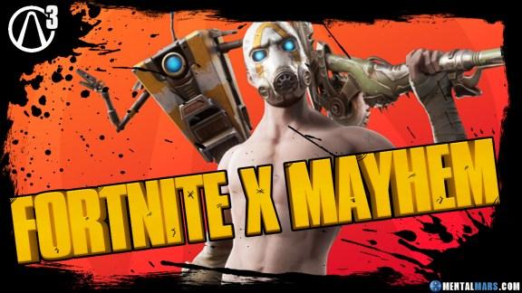 Fortnite x Borderlands 3 Event