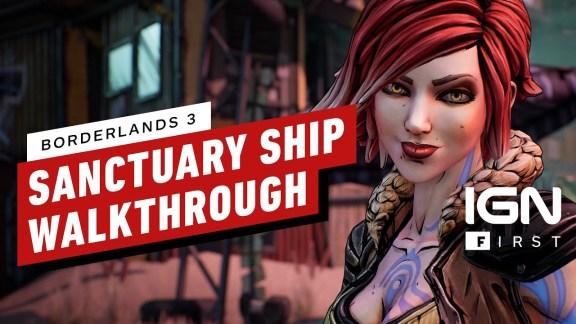 Sanctuary 3 Ship Walkthrough - Borderlands 3