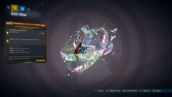 Borderlands 3 Legendary Eridian Artifact - Launch Pad