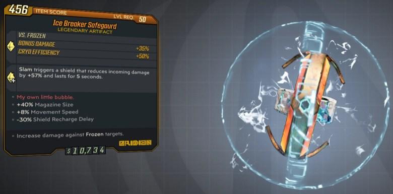 Borderlands 3 Legendary Eridian Artifact - Safeguard