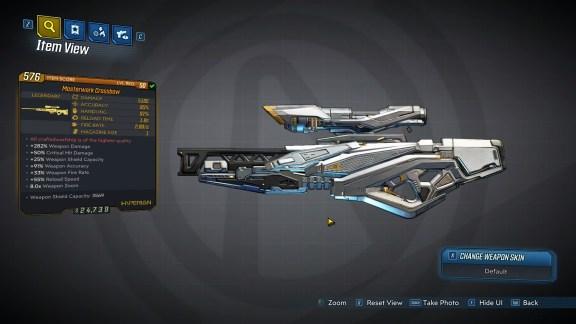Borderlands 3 Legendary Hyperion Sniper Rifle - Crossbow