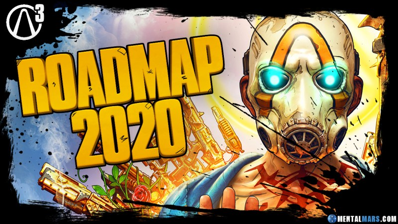 Borderlands 3 Roadmap 2020