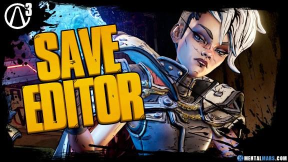 Borderlands 3 Save File Editor