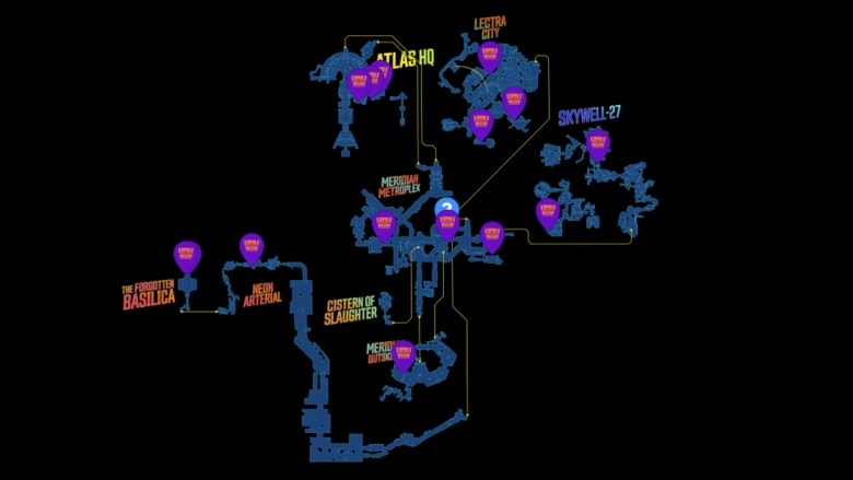 Promethea Red Chest Locations