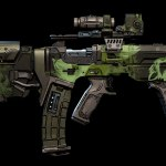 bloody harvest weapon skin - Borderlands 3