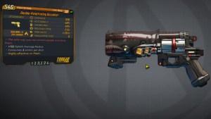 Borderlands 3 Legendary Torgue Pistol - Occultist
