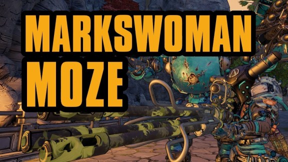Moze - Markswoman Build - Borderlands 3