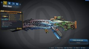 Borderlands 3 Legendary Dahl Assault Rifle - Good Juju
