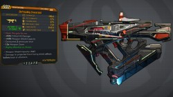 Borderlands 3 Legendary Hyperion SMG - Crossroad