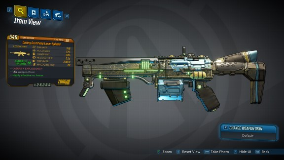 Borderlands 3 Legendary Torgue Assault Rifle - Laser-Sploder