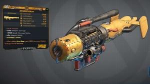 Borderlands 3 Legendary Torgue Rocket Launcher - Nukem