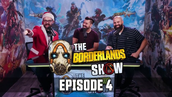 The Borderlands Show - Episode 4 with Anthony Nicholson