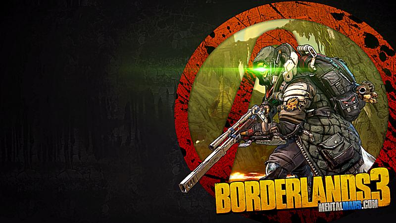 Borderlands 3 Vault Symbol Wallpaper - FL4K