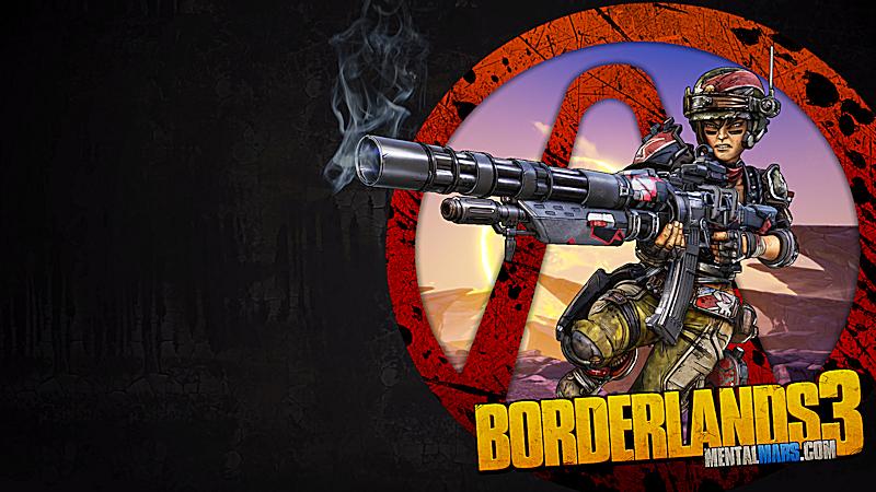 Borderlands 3 Vault Symbol Wallpaper - Moze