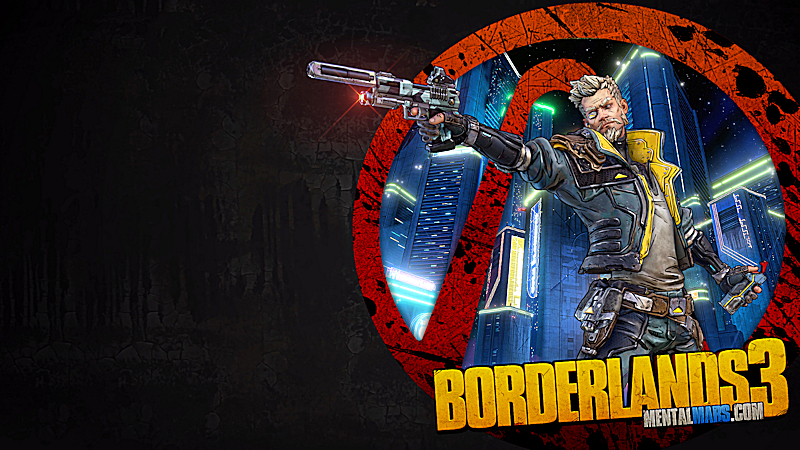 Borderlands 3 Vault Symbol Wallpaper - Zane