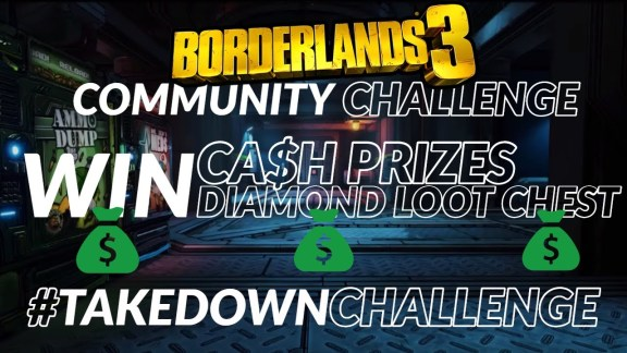Borderlands 3 Community Takedown Challenge