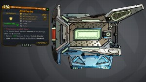 Borderlands 3 Legendary Hyperion Shield - Stop-Gap