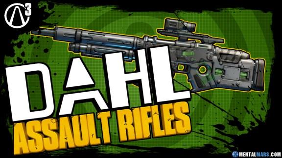 Best Dahl Assault Rifles in Borderlands 3