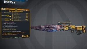 Borderlands 3 Legendary Dahl Sniper Rifle - Malak's Bane