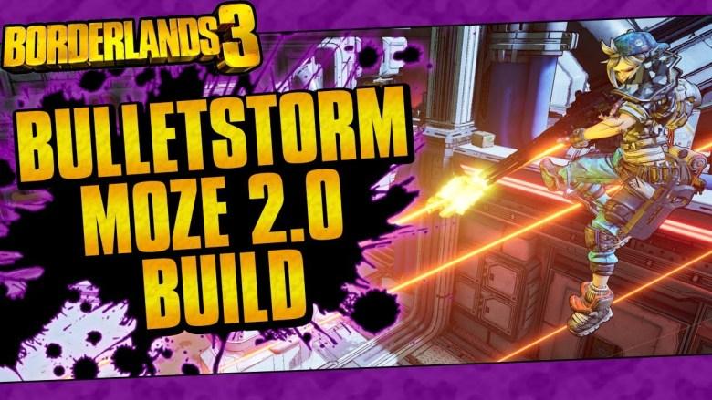 Moze - Bulletstorm 2.0 Build - Borderlands 3