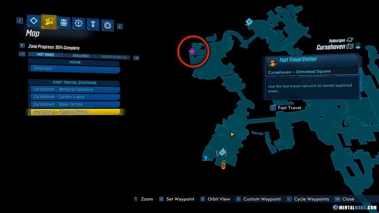 Unseen Threat Drop Location - Borderlands 3