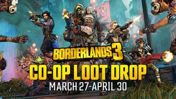 co-op loot drop mini-event - Borderlands 3