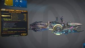 Borderlands 3 Legendary COV Rocket Launcher - Yellowcake
