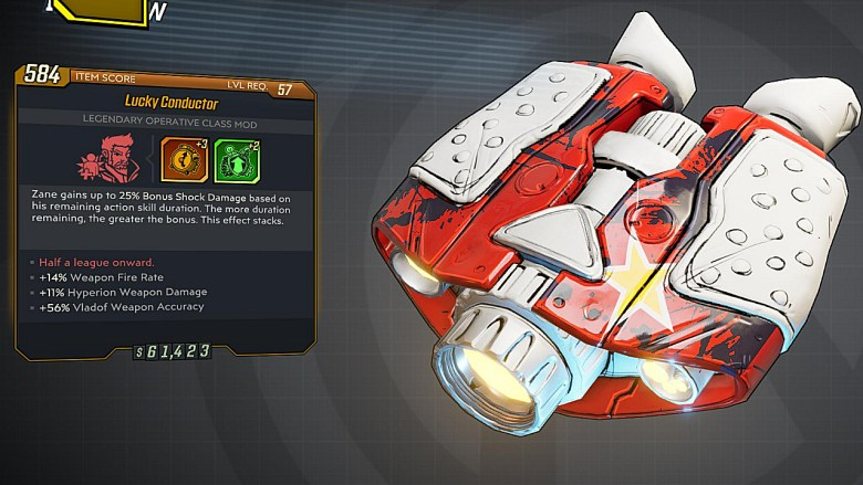 Borderlands 3 Legendary Operative Class Mod - Conductor