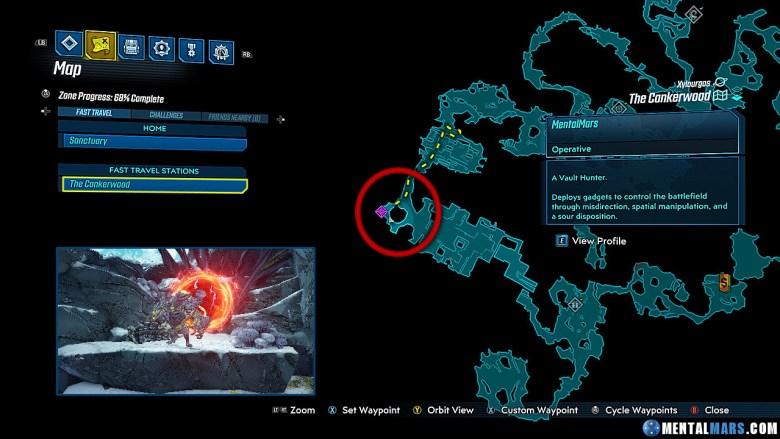 Fungal Gorger - Rare Enemy Spawn Location - Borderlands 3 DLC 2