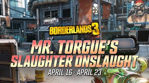 Slaughter Onslaught - Borderlands 3 Event