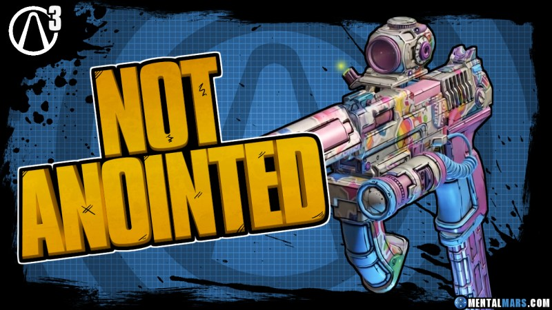 Unanointed Weapons - Borderlands 3