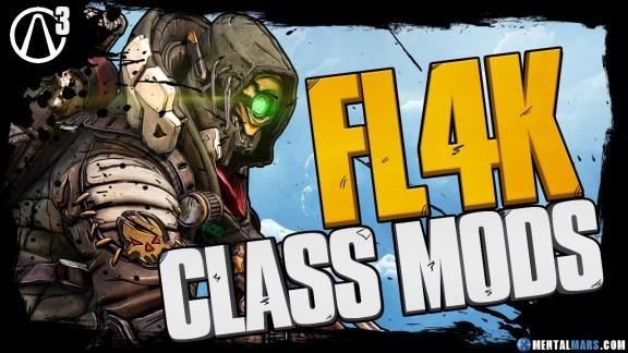 Borderlands 3 FL4K Legendary Class Mods