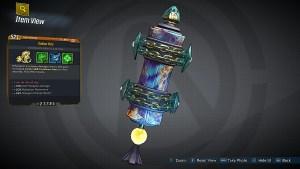 Borderlands 3 Legendary Siren Class Mod - Golden Rule