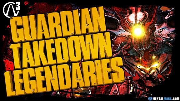 Borderlands 3 Guardian Takedown Legendary