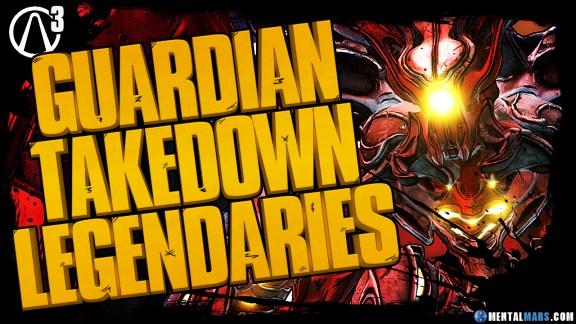 Borderlands 3 Guardian Takedown Legendary