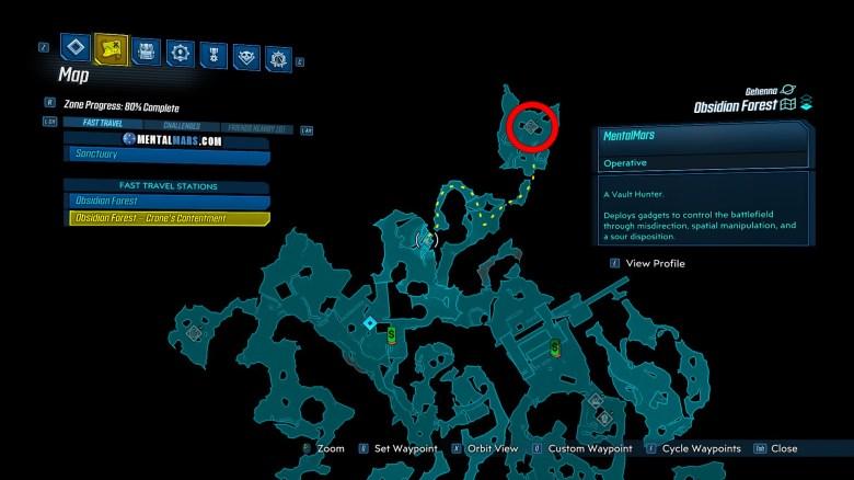 Hydragoian Spawn Location - Borderlands 3 Bounty of Blood