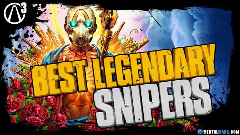Borderlands 3 Best Legendary Snipers